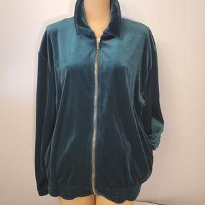 Vintage Teddi Zip-Up Jacket
